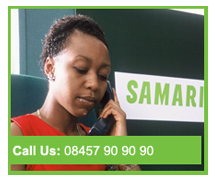 Call The Samaritans - 08457 90 90 90