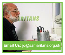 Email The Samaritans - jo@samaritans.org.uk
